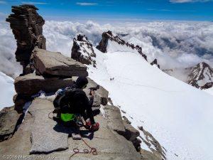 Grand Paradis · Alpes, Massif du Grand Paradis, Valsavarenche, IT · GPS 45°31'1.63'' N 7°16'5.73'' E · Altitude 4061m