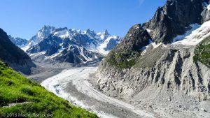 Début du Balcon · Alpes, Massif du Mont-Blanc, Mer de Glace, FR · GPS 45°55'22.81'' N 6°55'49.36'' E · Altitude 2036m