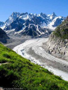 Début du Balcon · Alpes, Massif du Mont-Blanc, Mer de Glace, FR · GPS 45°55'22.87'' N 6°55'49.43'' E · Altitude 2034m