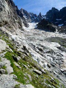 Traversée sous le Glacier de la Charpoua · Alpes, Massif du Mont-Blanc, Mer de Glace, FR · GPS 45°55'18.24'' N 6°56'36.08'' E · Altitude 2341m