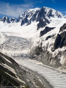 Tête du Couvercle · Alpes, Massif du Mont-Blanc, Mer de Glace, FR · GPS 45°54'27.04'' N 6°57'33.07'' E · Altitude 2703m