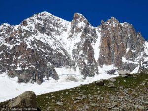 Pierre à Bérenger · Alpes, Massif du Mont-Blanc, Mer de Glace, FR · GPS 45°54'11.05'' N 6°58'24.61'' E · Altitude 2502m