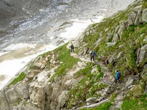 Refuge de Leschaux · Alpes, Massif du Mont-Blanc, Mer de Glace, FR · GPS 45°53'41.60'' N 6°58'51.74'' E · Altitude 2442m