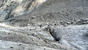 Glacier de Leschaux · Alpes, Massif du Mont-Blanc, Mer de Glace, FR · GPS 45°53'54.52'' N 6°58'1.78'' E · Altitude 2190m