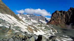 Chessjengletscher · Alpes, Alpes valaisannes, Massif de l'Allalin, CH · GPS 46°3'43.51'' N 7°56'2.39'' E · Altitude 2922m