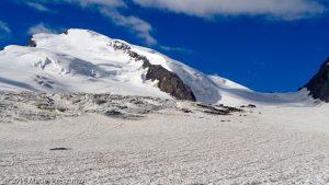 Allalingletscher · Alpes, Alpes valaisannes, Massif de l'Allalin, CH · GPS 46°2'48.42'' N 7°54'44.01'' E · Altitude 3065m