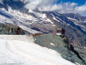 Chessjengletscher · Alpes, Alpes valaisannes, Massif de l'Allalin, CH · GPS 46°3'59.24'' N 7°55'3.71'' E · Altitude 2966m