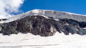 Chessjengletscher · Alpes, Alpes valaisannes, Massif de l'Allalin, CH · GPS 46°3'59.65'' N 7°55'2.12'' E · Altitude 2964m