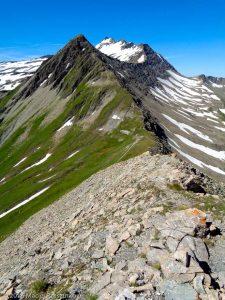 Col de Chavannes · Alpes, Massif du Mont-Blanc, Val Veny, IT · GPS 45°45'3.98'' N 6°50'17.22'' E · Altitude 2677m