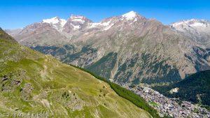 - · Alpes, Alpes valaisannes, Massif de Michabel, CH · GPS 46°6'24.27'' N 7°54'16.81'' E · Altitude 2429m