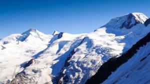 Mischabelhütte · Alpes, Alpes valaisannes, Massif de Michabel, CH · GPS 46°6'34.65'' N 7°53'20.25'' E · Altitude 3324m