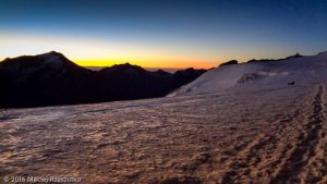 Hohbalmgletscher · Alpes, Alpes valaisannes, Massif de Michabel, CH · GPS 46°6'40.66'' N 7°52'41.37'' E · Altitude 3599m