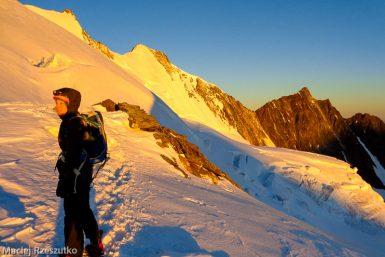 Windjoch · Alpes, Alpes valaisannes, Massif de Michabel, CH · GPS 46°6'57.13'' N 7°52'22.84'' E · Altitude 3854m
