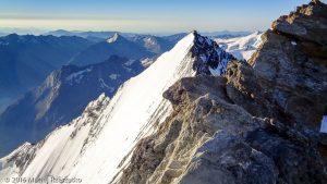 Nadelhorn · Alpes, Alpes valaisannes, Massif de Michabel, CH · GPS 46°6'32.59'' N 7°51'50.46'' E · Altitude 4287m