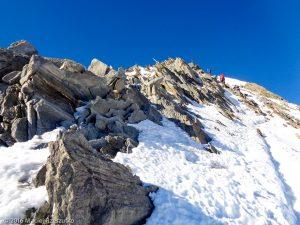 Arête NE du Nadelhorn · Alpes, Alpes valaisannes, Massif de Michabel, CH · GPS 46°6'34.66'' N 7°51'51.77'' E · Altitude 4236m