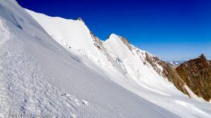 Arête NE du Nadelhorn · Alpes, Alpes valaisannes, Massif de Michabel, CH · GPS 46°6'49.70'' N 7°52'9.82'' E · Altitude 3995m
