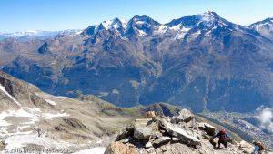 Schwarzhorn · Alpes, Alpes valaisannes, Massif de Michabel, CH · GPS 46°6'36.70'' N 7°53'0.07'' E · Altitude 3565m
