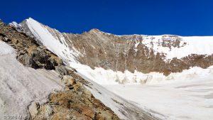 Schwarzhorn · Alpes, Alpes valaisannes, Massif de Michabel, CH · GPS 46°6'36.69'' N 7°53'0.02'' E · Altitude 3565m