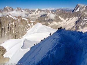 Aiguille du Midi · Alpes, Massif du Mont-Blanc, FR · GPS 45°52'45.53'' N 6°53'14.79'' E · Altitude 3738m