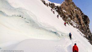 Col du Mont Maudit · Alpes, Massif du Mont-Blanc, FR · GPS 45°50'55.40'' N 6°52'25.48'' E · Altitude 4290m