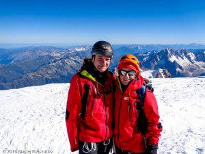 Mont-Blanc · Alpes, Massif du Mont-Blanc, FR · GPS 45°49'57.38'' N 6°51'53.77'' E · Altitude 4810m