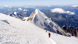 Dôme du Goûter · Alpes, Massif du Mont-Blanc, FR · GPS 45°50'39.30'' N 6°50'29.83'' E · Altitude 4169m