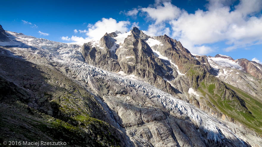 Glacier du Trient · Alpes, Valais, Massif du Mont-Blanc, CH · GPS 46°1'18.90'' N 7°1'58.63'' E · Altitude 2332m