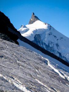 Turtmanngletscher · Alpes, Alpes valaisannes, Vallée d'Anniviers, CH · GPS 46°7'48.14'' N 7°40'58.13'' E · Altitude 3216m