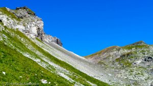 Col de Salenton · Alpes, Préalpes de Savoie, Aiguilles Rouges, FR · GPS 46°0'23.00'' N 6°50'52.93'' E · Altitude 2313m
