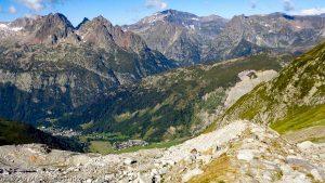 Moraine laterale du glacier du Tour · Alpes, Massif du Mont-Blanc, Vallée de Chamonix, FR · GPS 45°59'58.28'' N 6°58'52.00'' E · Altitude 2481m