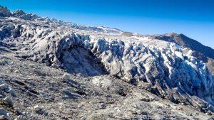 Moraine laterale du glacier du Tour · Alpes, Massif du Mont-Blanc, Vallée de Chamonix, FR · GPS 45°59'58.06'' N 6°58'52.22'' E · Altitude 2483m