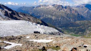 Arête du Génépi · Alpes, Massif du Mont-Blanc, Vallée de Chamonix, FR · GPS 45°59'52.78'' N 6°59'27.95'' E · Altitude 2824m