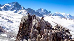 Arête du Génépi · Alpes, Massif du Mont-Blanc, Vallée de Chamonix, FR · GPS 45°59'55.03'' N 6°59'32.08'' E · Altitude 2886m