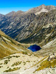 Lac d'Estom · Pyrénées, Hautes-Pyrénées, Vallée de Lutour, FR · GPS 42°47'40.33'' N 0°6'41.28'' W · Altitude 2279m