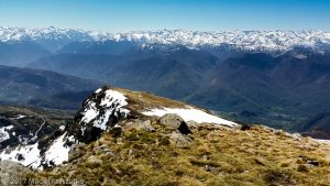 Pic de St Barthélemy · Pyrénées, Ariège, Montagne de Tabe, FR · GPS 42°49'8.78'' N 1°46'16.36'' E · Altitude 2348m
