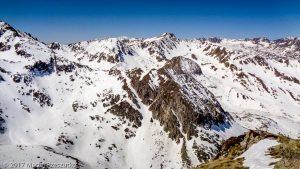 Pic dels Pedrons · Pyrénées, Catalogne, Encamp, AD · GPS 42°31'52.96'' N 1°45'8.44'' E · Altitude 2714m