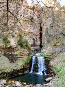 Abîme de Bramabiau · Cévennes, Gard, FR · GPS 44°7'17.60'' N 3°28'32.54'' E · Altitude 1063m