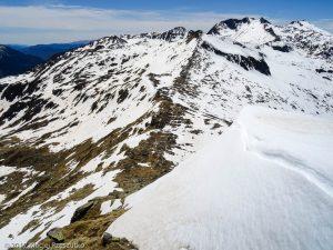 Pointe de Rabassère · Pyrénées, Ariège, Valée d'Ustou, FR · GPS 42°43'27.01'' N 1°19'31.04'' E · Altitude 2568m