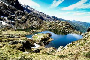 Étang de la Hillette · Pyrénées, Ariège, Valée d'Ustou, FR · GPS 42°43'54.88'' N 1°18'26.82'' E · Altitude 1788m