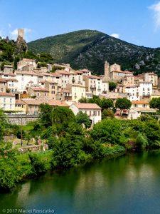 Roquebrun · Hérault, Parc Naturel du Haut-Languedoc, Massif du Caroux, FR · GPS 43°29'56.81'' N 3°1'42.36'' E · Altitude 74m