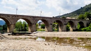 Roquebrun · Hérault, Parc Naturel du Haut-Languedoc, Massif du Caroux, FR · GPS 43°29'56.92'' N 3°1'46.94'' E · Altitude 74m
