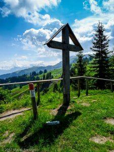 Croix des Sept Frères · Alpes, Préalpes de Savoie, Massif du Giffre, FR · GPS 46°2'33.08'' N 6°39'50.89'' E · Altitude 1692.3m