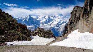 La Cheminée · Alpes, Aiguilles Rouges, FR · GPS 45°56'11.87'' N 6°50'16.53'' E · Altitude 2441m