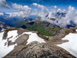 Épaule du Mont Buet · Alpes, Aiguilles Rouges, Vallon de Bérard, FR · GPS 46°0'53.62'' N 6°51'1.39'' E · Altitude 2721m