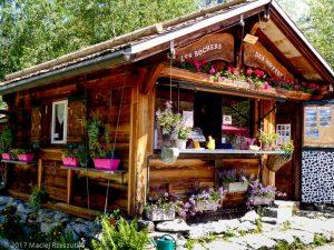 Buvette des Mottets · Alpes, Massif du Mont-Blanc, Vallée de Chamonix, FR · GPS 45°56'23.89'' N 6°55'2.66'' E · Altitude 1654m
