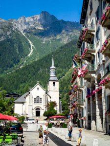 Chamonix-Mont-Blanc · Alpes, Aiguilles Rouges, Vallée de Chamonix, FR · GPS 45°55'25.38'' N 6°52'11.63'' E · Altitude 1103m
