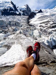 La Jonction · Alpes, Massif du Mont-Blanc, Vallée de Chamonix, FR · GPS 45°52'37.16'' N 6°51'28.42'' E · Altitude 2586m