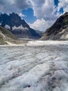 Glacier de Leschaux · Alpes, Massif du Mont-Blanc, Vallée de Chamonix, FR · GPS 45°53'37.58'' N 6°58'29.12'' E · Altitude 2194m