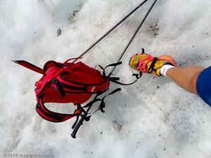 Glacier de Leschaux · Alpes, Massif du Mont-Blanc, Vallée de Chamonix, FR · GPS 45°53'37.57'' N 6°58'28.93'' E · Altitude 2193m
