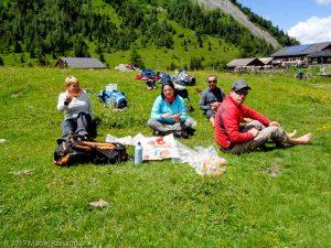 Chalets de Miage · Alpes, Massif du Mont-Blanc, FR · GPS 45°50'19.14'' N 6°45'38.45'' E · Altitude 1547m
